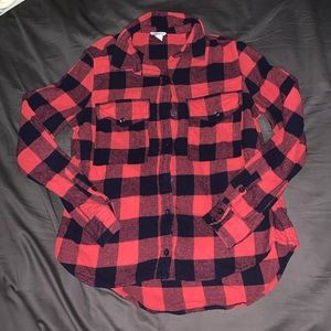 Women's Forever 21 Flannel button down size small